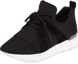 2ded6749f44 Donna Karan Ebbz Stretch-Knit Slip-On Sneakers