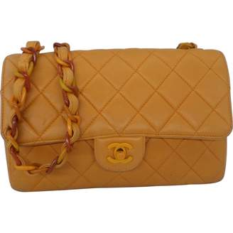 Chanel Timeless/Classique Camel Leather Handbag