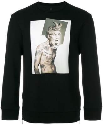 Neil Barrett Tattoo Sculpture 02 sweatshirt