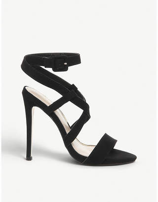 Office Hampstead faux-leather crossover strap sandals