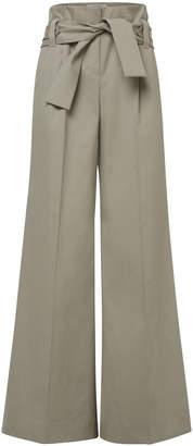 Schumacher Dorothee Sophisticated Sportswear Cotton-Blend Wide-Leg Pan