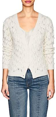 Co Women's Beaded Wool-Cashmere Cardigan - Ivorybone