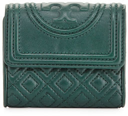 Tory Burch Tory Burch Fleming Mini Flap Wallet, Black