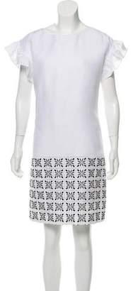 Ann Mashburn Linen Embroidered Dress