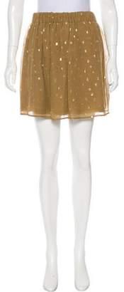 Hoss Intropia Silk Devoré Skirt