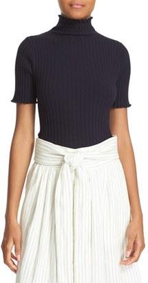 Women's Sea Rib Knit Turtleneck Tee $245 thestylecure.com