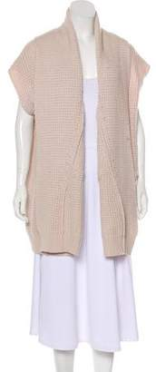 Eres Wool Open Front Cardigan