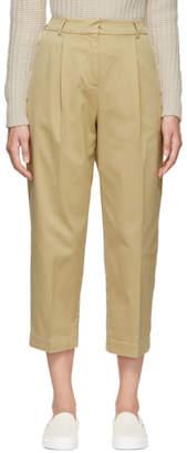 YMC Beige Cotton Market Trousers