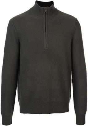 Vince zip front jumper