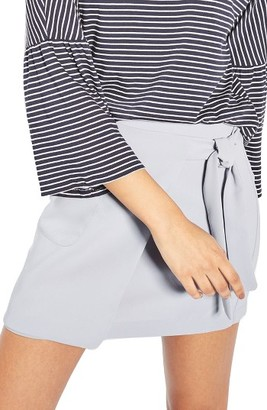 Women's Topshop Wrap Miniskirt $68 thestylecure.com