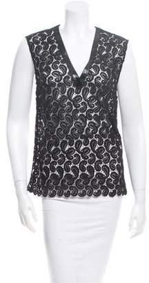 Mary Katrantzou Filo Paisley Top w/ Tags