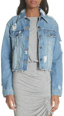 Veronica Beard Cara Denim Jacket