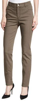 Lafayette 148 New York Thompson Slim-Leg Jeans, Plus Size