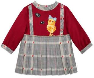 Gucci Baby wool dress with patches