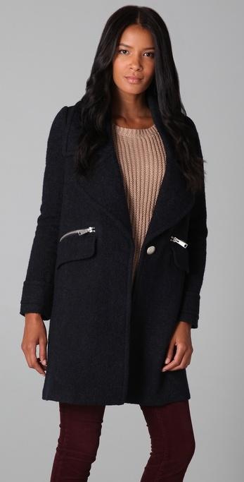 Joie Kathryn Boucle Coat