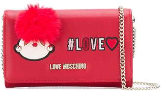 Love Moschino Love foldover crossbody bag