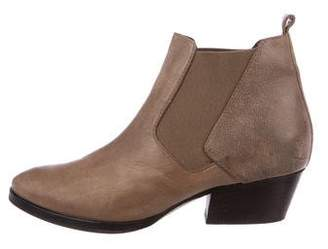 Aquatalia Chelsea Leather Booties