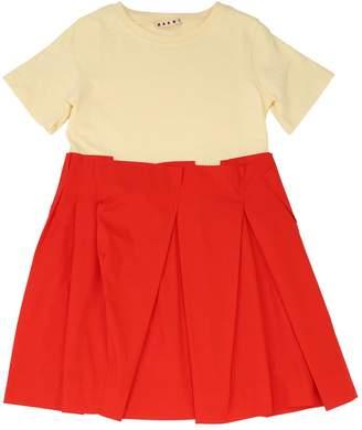 Marni Junior Cotton Poplin Dress