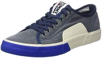 f1ea9ce16c11b3 Tommy Jeans Hilfiger Denim Men s Tj Urban Textile Sneaker Low-Top