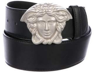 Versace Medusa Hip Leather Belt