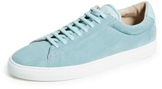 Zespà ZSP4 Suede Leather Sneakers