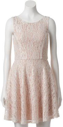Juniors' Speechless Skater Dress $58 thestylecure.com