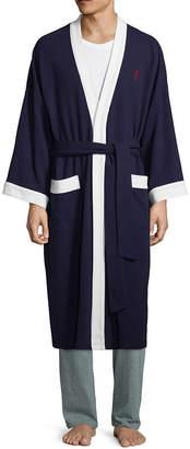 Jockey Waffle Long Sleeve Kimono Robes