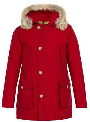 Woolrich Arctic Down Filled Hooded Parka - Mens - Red