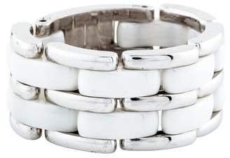 Chanel 18K Ceramic Ultra Ring