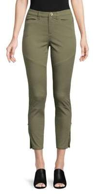 Highline Collective Skinny Stretch Twill Ankle Zip Pants