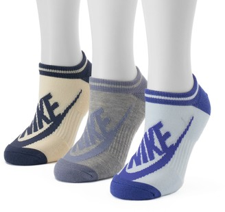Nike Women's 3-pk. Striped No-Show Socks
