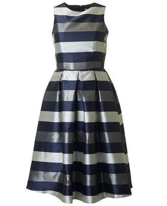 Bourne Una Striped Full Skirt Dress