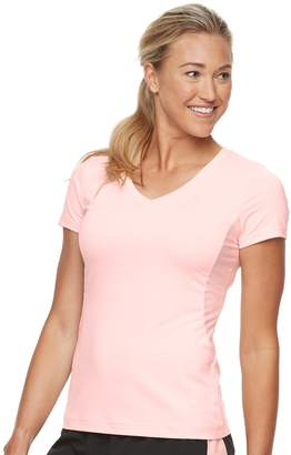Fila Sport Women's SPORT Short Sleeve V-Neck Tee