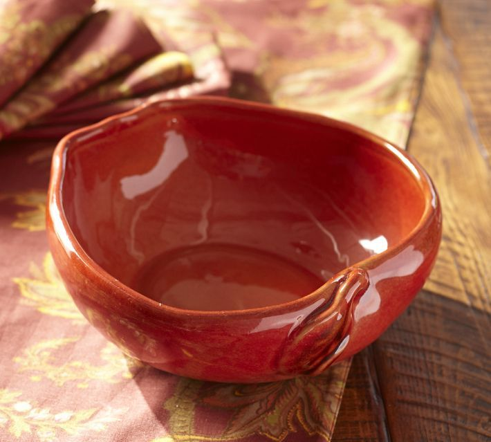 Pottery Barn Apple Serve Bowl
