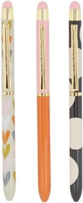 Caroline Gardner Triple Pen Set