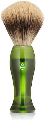 eShave Shave Brush Fine - Green - 1pc