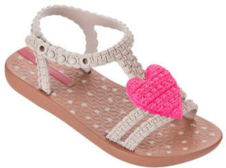 Ipanema Heart Ankle Strap Sandals