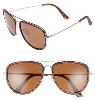 1901 Pace 60mm Aviator Sunglasses