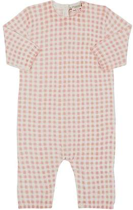 Bonpoint Infants' Gingham Knit Cotton Coverall