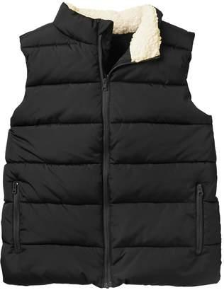 Crazy 8 Little Boys' Zipper Pocket Modern Puffer Vest