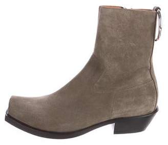 Vetements 2016 Suede Ankle Boots
