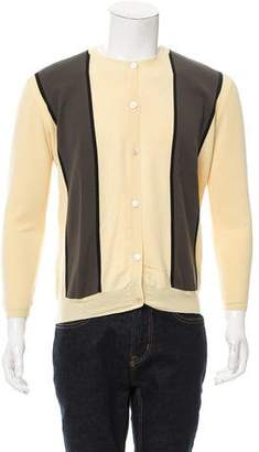 Marni Colorblock Virgin Wool Cardigan