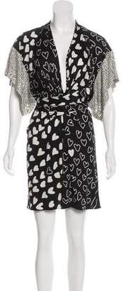 Issa Silk Jersey Mini Dress