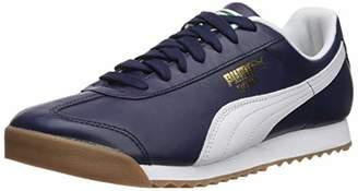 Puma Men's Roma Classic Sneaker, Peacoat White