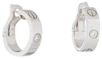 Cartier Diamond LOVE Earrings