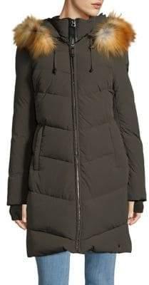 Rudsak Down-Filled Fox Fur Puffer Coat