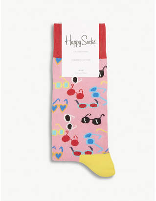 Happy Socks Sunglasses cotton-blend socks
