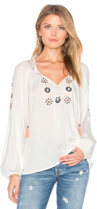 Sanctuary Freya Boho Blouse $99 thestylecure.com