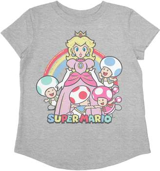 Toddler Girl Jumping Beans Super Mario Bros. Princess Peach & Friends Graphic Tee