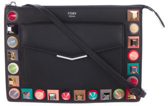 FendiFendi Mini Studded Crossbody Bag